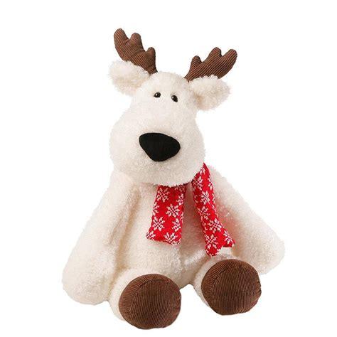 White-Reindeer-Stuffed-Animal