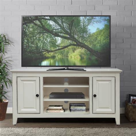 White-Retro-Tv-Stand