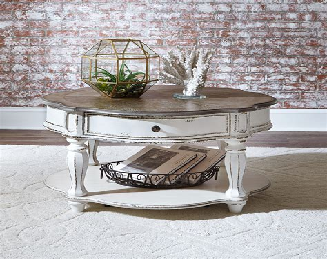White-Vintage-Coffee-Table
