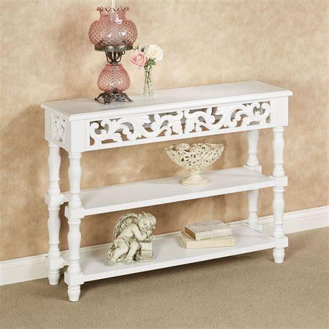 White-Vintage-Console-Table
