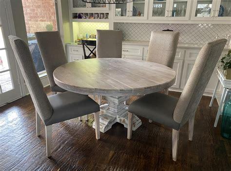 White-Wash-Pedestal-Dining-Table-Diy