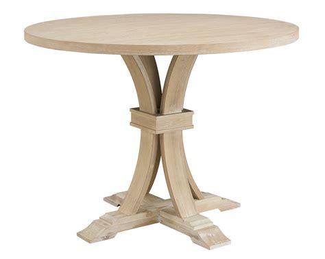 White-Wash-Round-Pedestal-Dining-Table-Diy