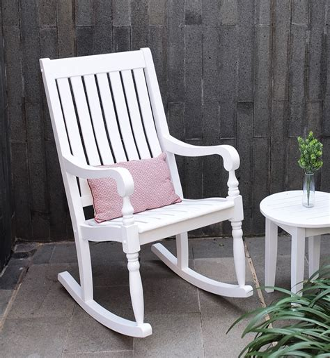 White-Wooden-Rocking-Chair
