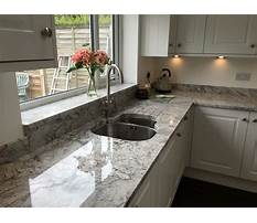 Best White cabinets with grey granite