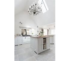 Best White kitchen tile flooring