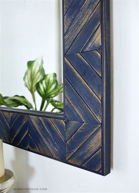 Whitewash Frame Diy With Sticks