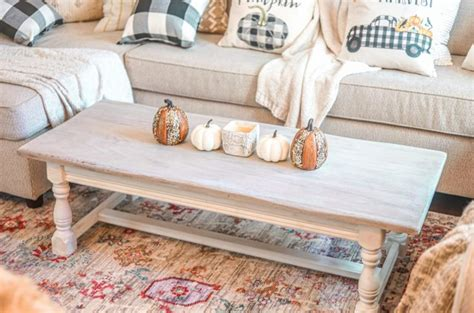 Whitewash Table Diy