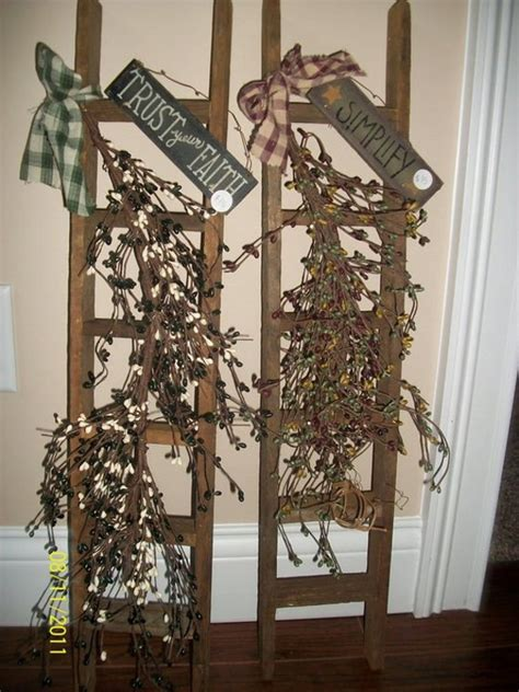 Wholesale Primitive Ladders Hanging