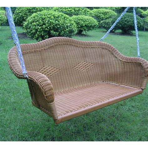 Wicker swing with free shipping Image