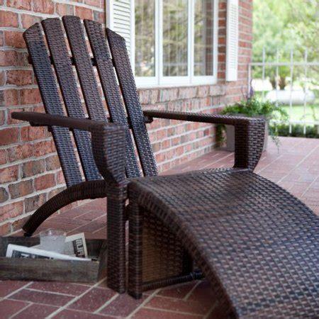 Wicker-Adirondack-Chair-With-Ottoman