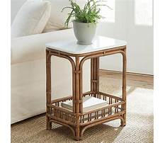 Best Wicker end tables for living room