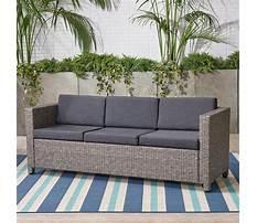 Best Wicker outdoor sofa