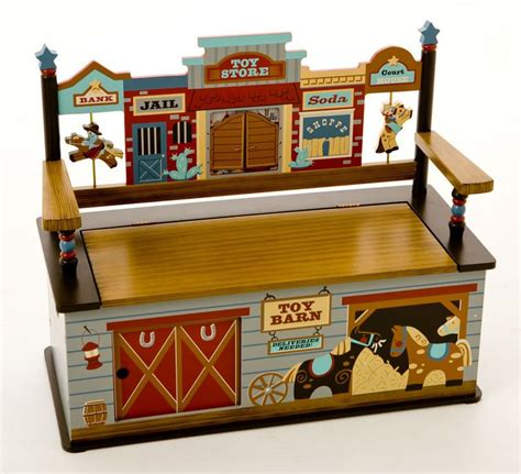 Wild West Kids Bench Seat With Storage