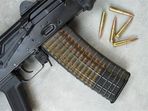 Will Ak47 Ammo Work In A 300 Blackout And Magpul Moe Slimline Handguard Carbine Length
