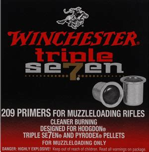 Winchester  Triple Seven 209 Primers  100 To 5000 Count .