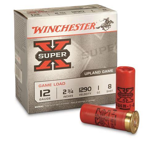 Winchester 12 Gauge Shotgun Shells And 2 3 4 Shotgun Shells In 3 Inch