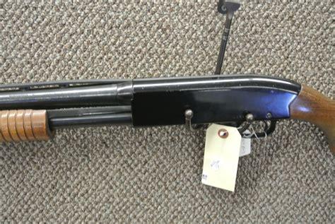 Winchester Model 120 12 Gauge Pump Shotgun And 12 Gage Shotgun Case