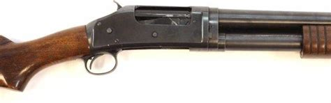Winchester Model 1895 Pump Shotgun And Double Barrel Shotgun Pellet Gun
