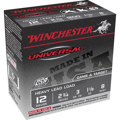 Winchester Universal 12 Gauge Shotgun Shells Price And Best Priced Over Under Shotguns