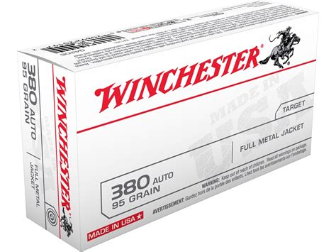 Winchester Usa Ammo 380 Acp 95 Grain Full Metal Jacket Box And New Viking Tactics Light Mount Installation And Use