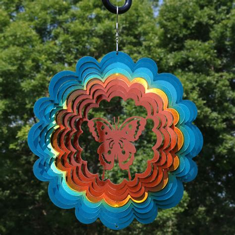 Wind Activated Yard Whirligigs Images Of Butterflies