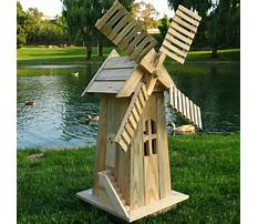 Best Windmill planter plans