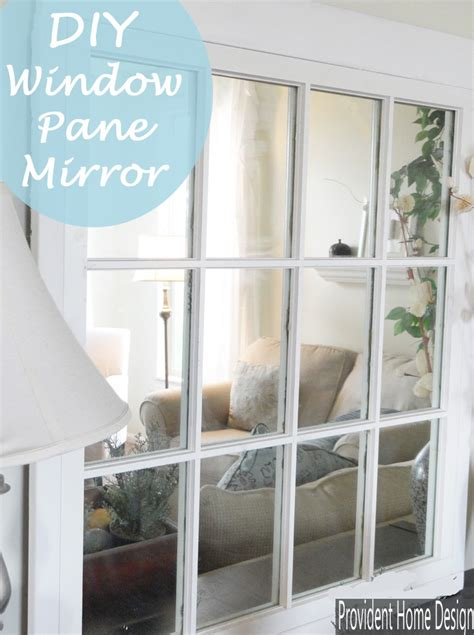 Window Frame Mirror Diy Dresser
