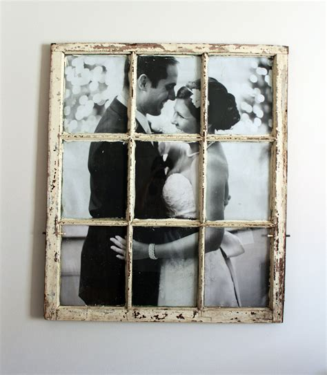 Window Frame Picture Frame Diy
