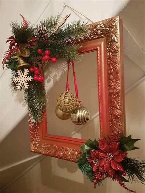 Window To Picture Frame Diy Christmas
