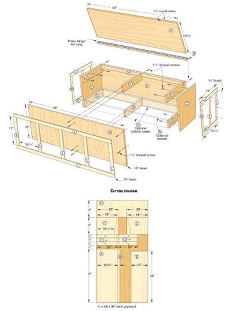 Window-Bench-Plans-Free