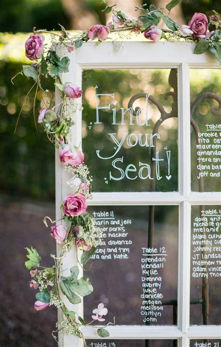 Window-Frame-Wedding-Table-Plan
