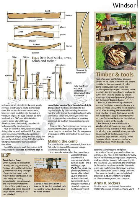 Windsor-Rocker-Chair-Plans