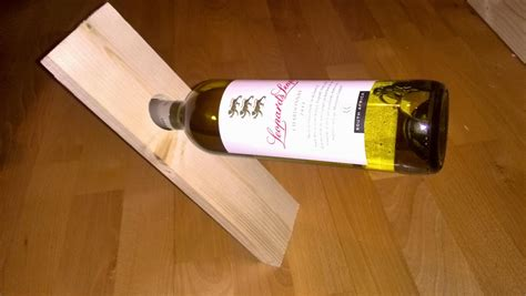 Wine Bottle Holder Wood Diy