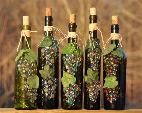 Wine Bottles Diy Projects