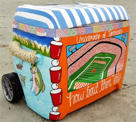 Wine Cooler Painting Ideas