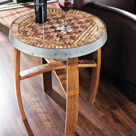 Wine Cork Table DIY
