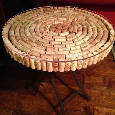 Wine Cork Table Top DIY