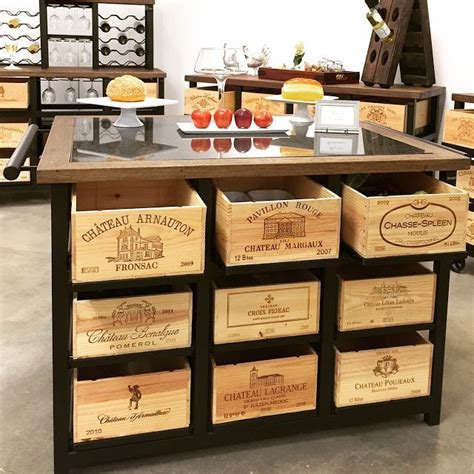 Wine Crate Furniture Ideas