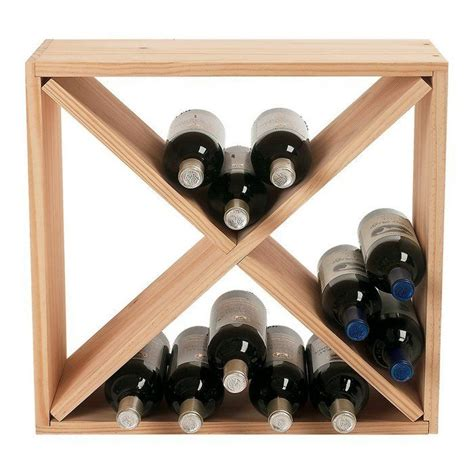 Wine Rack Cube Diy Storage