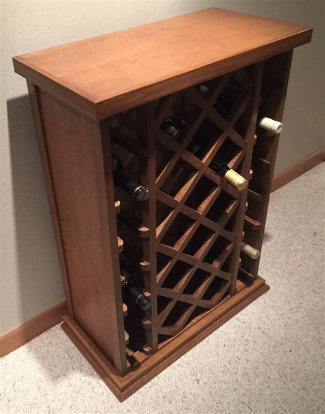 Wine Rack Lattice Diy Growing
