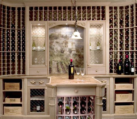 Wine Storage Rooms Construction Plans
