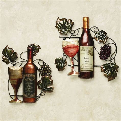 Wine Themed Kitchen Wall Decor