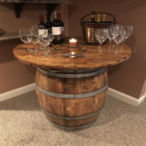 Wine-Barrel-Bistro-Table-Diy