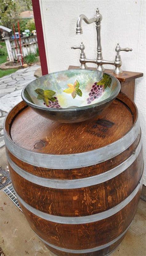 Wine-Barrel-Sink-Diy