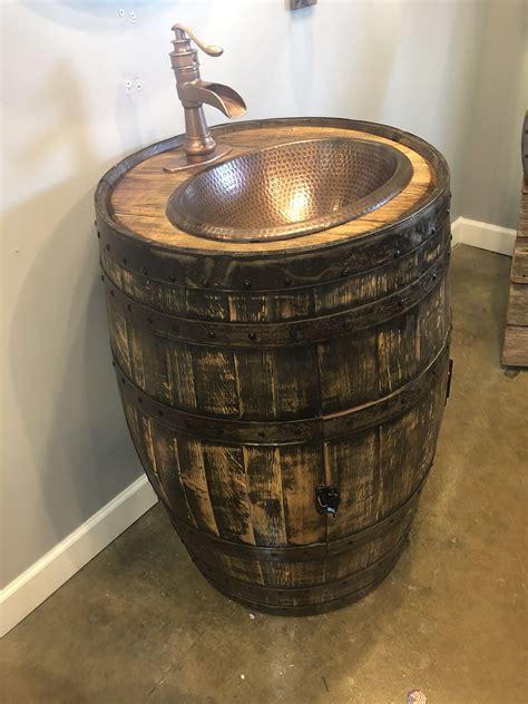 Wine-Barrel-Vanity-Diy