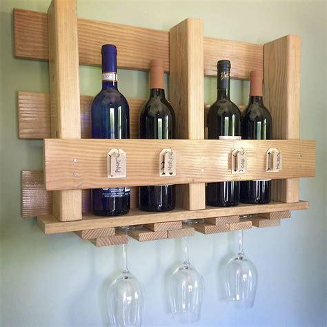 Wine-Bottle-And-Glass-Rack-Diy