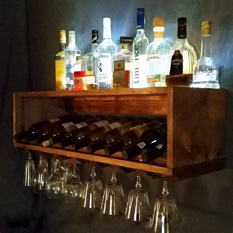 Wine-Bottle-And-Glass-Rack-Plans