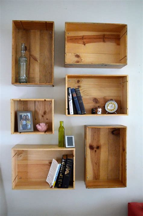 Wine-Crate-Shelves-Diy