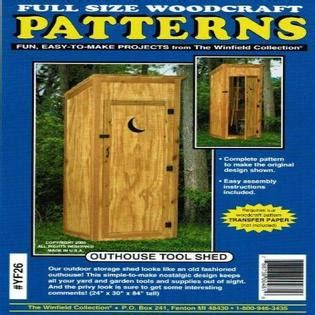 Winfield Outhouse Plans