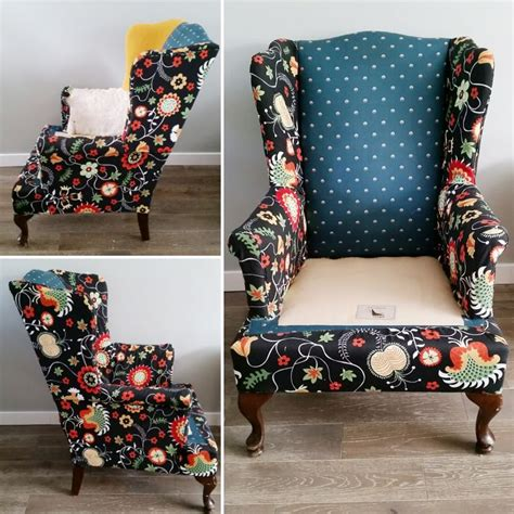 Wing-Chair-Diy-Reupholstery